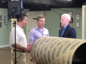 Anderson Cooper interviewing Greg Berns and Mark Spivak