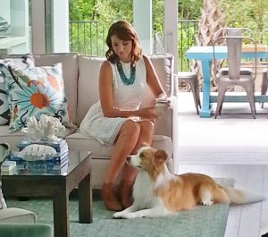 Karen Smalley: Bodhi in a commercial for HGTV