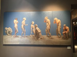 Museu Europeu d'Art Modern - El Sueño de Rodin by Amelia Mendivil Blanco. MEAM was small, but featured a large number of eye catching photographs, paintings, and sculptures.