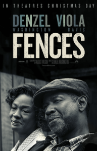 "The acting in ""Fences"" was powerful. However, to me, too powerful. Denzel Washington's lead character was so dislikable that the movie was unpleasant to watch. Source: Wikipedia."