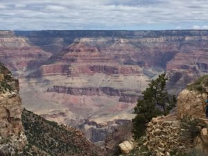 Grand Canyon- A view from the top of the South Rim.