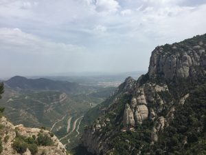 Another scenic view from Montserrat.