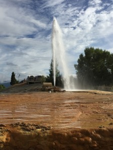 The Soda Springs Geyser