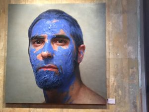 Museu Europeu d'Art Modern - La Pintura en Mi Cabeza by Eloy Morales Ramiro. The Museum of European Art Modern (MEAM) was outstanding. And unlike the Museu Picasso allowed photography. IMO photography is vital to recapture the memory of the experience long-term.