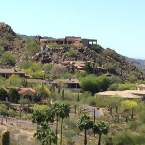 Paradise Valley, Arizona- A gigantic and beautiful southwestern adobe house in Paradise Valley.
