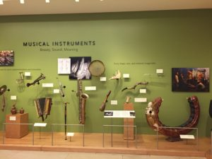 Phoenix, Arizona- One of the introductory exhibits on the ground floor of the incredible Musical Instrument Museum.