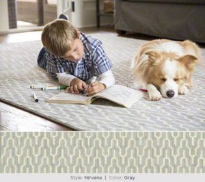 Karen Smalley: Bodhi's ad for Shaw Carpet