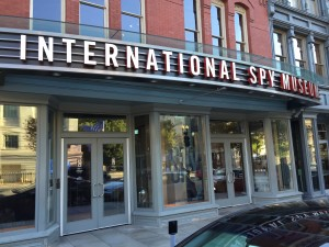 The entrance to the International Spy Museum. I highly recommend paying a visit if you are in Washington, DC.