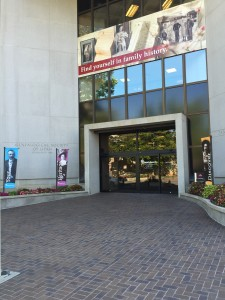 The Temple Square Family Search Library and Genealogy Center. Free of charge, the LDS Church allows persons of any faith to use their search library to create a family tree.