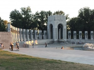 The Pacific section of the World War II Memorial- Washington, DC.
