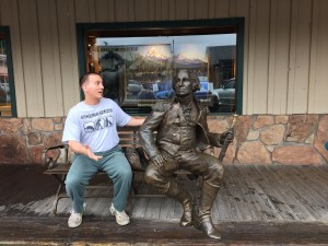Revolutionary War strategy with George Washington- Jackson Wyoming.