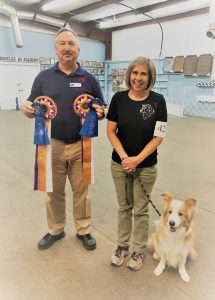 Obedience- CPT Trainer Karen Smalley Wins Obedience Competition